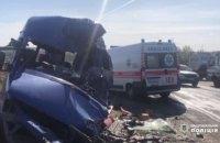 Под Одессой маршрутка столкнулась с грузовиком, 9 погибших