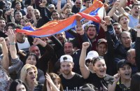 В Армении возобновились акции протеста