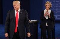 Клинтон получила на выборах на 1 млн голосов больше Трампа