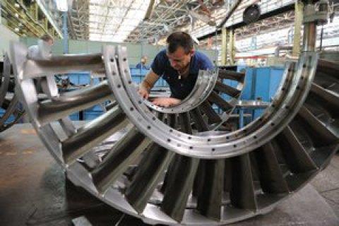 Падіння промвиробництва в Україні в липні уповільнилося до 4,2%