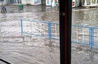 Луганск превратился в сплошную реку