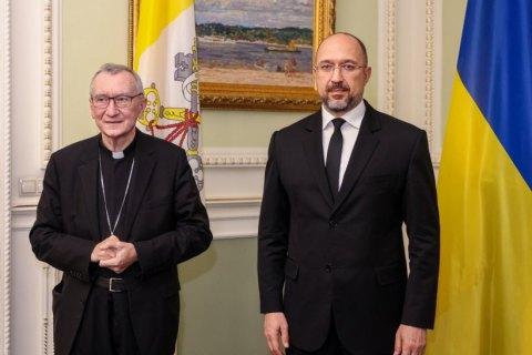Шмигаль анонсував підписання меморандуму з дитячою лікарнею Ватикану
