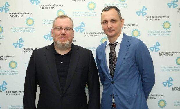 Валентин Резніченко і Юрій Голик