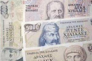 В Великобритании уже готовы печатать для Греции драхмы