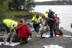 20 человек - в крайне тяжелом состоянии после терактов в Норвегии