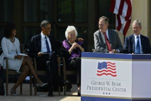 Джордж Буш-младший открыл свою библиотеку