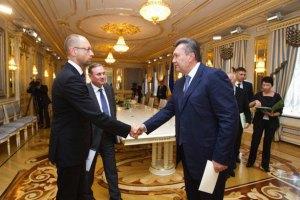 На Банковій розпочалася зустріч лідерів опозиції з Януковичем