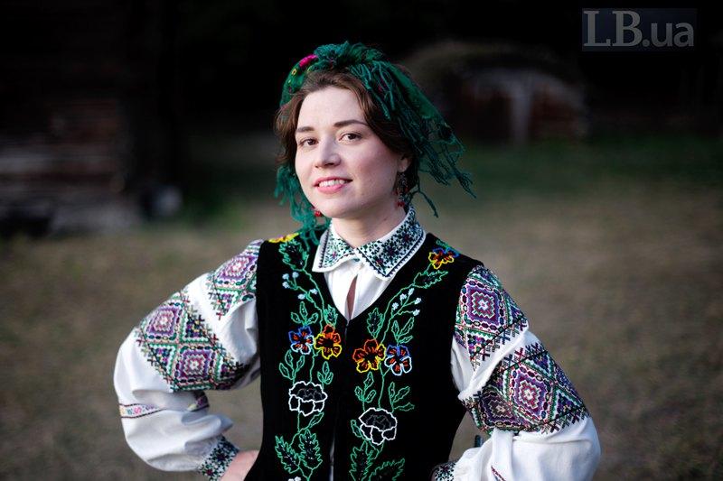 Заступниця головного редактора Вікторія Герасимчук у вбранні міщанки
