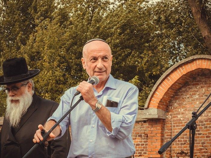 Выступает исполнительный директор Киевской городской еврейской общины Анатолий Шенгайт