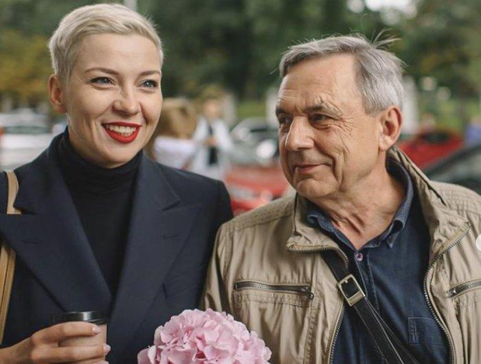 Марія Колеснікова з батьком Олександром Павловичем