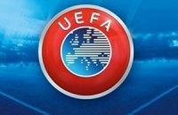 """УЕФА оштрафовал """"Байер"""" за """"неправильный"""" баннер"""