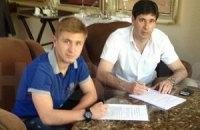Команда Милевского подписала контракт с ещё одним украинцем