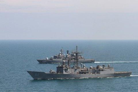 У Чорному морі почалися військово-морські навчання НАТО