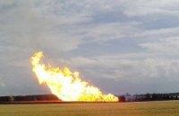 У Щасті снаряд пошкодив магістральний газопровід