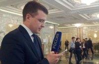 Российский журналист, который кричал в сторону Порошенко, верит своим коллегам