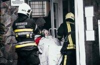У Києві виникла пожежа в приватному будинку для літніх людей