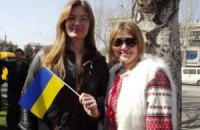 У Луганську близько тисячі людей вийшли на мітинг за Україну