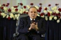 82-річний президент Алжиру відмовився йти на п'ятий термін