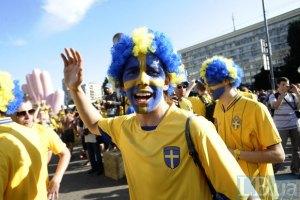 Центр Києва перекриють через шведських фанів