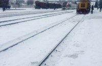 В Киевской области сломался поезд Hyundai