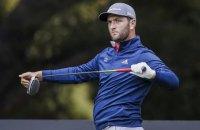 """Сильнейший гольфист планеты произвел фантастический удар с отскоком от водной поверхности на турнире """"Мастерс"""""""