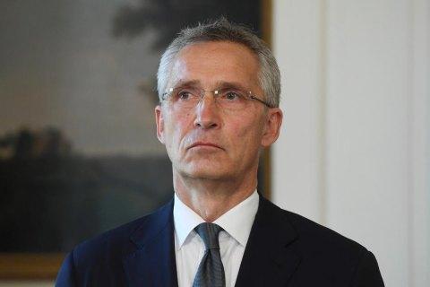 Столтенберг: Россия не имеет права вето относительно членства Украины в НАТО