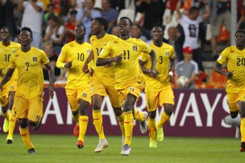 На Чемпионате мира по футболу (U-20) игрок сборной Мали забил гол, автогол и пенальти в матче с Аргентиной