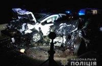 Біля Дубна сталася ДТП за участю чотирьох авто, три людини постраждали
