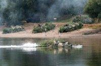 Российские военные в Приднестровье провели учения с форсированием Днестра