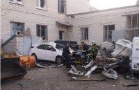 При взрыве баллона с газом в Кременчуге погиб мужчина