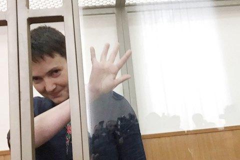 """Савченко уже летит в Киев, из Гостомеля вылетел борт авиакомпании """"Россия"""""""