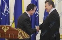 Расмуссен задоволений зустріччю з Януковичем у Нью-Йорку