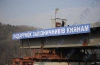 При строительстве моста Кирпы навредили киевскому ботсаду