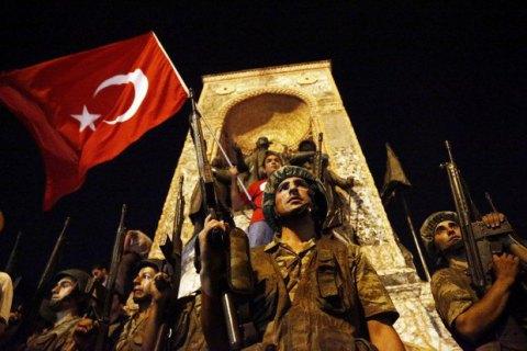 В Турции задержаны участники военного переворота