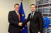 Оржель обговорив з віцепрезидентом Єврокомісії підготовку до тристоронніх газових переговорів