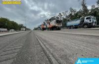 Під час ремонту траси Київ-Бориспіль вперше задіяли технологію геодезичного супроводу