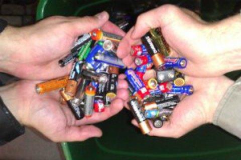 В Украине не оказалось ни одного предприятия по должной утилизации батареек