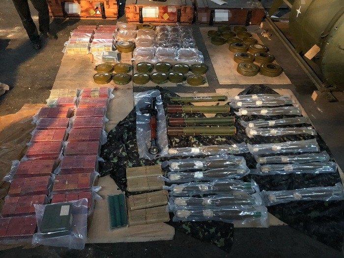 Оружие и вооружение, предназначенное для стран под санкциями ООН