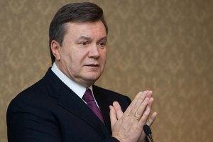 """Янукович поздравил Кличко с """"очередной защитой самого престижного титула"""""""