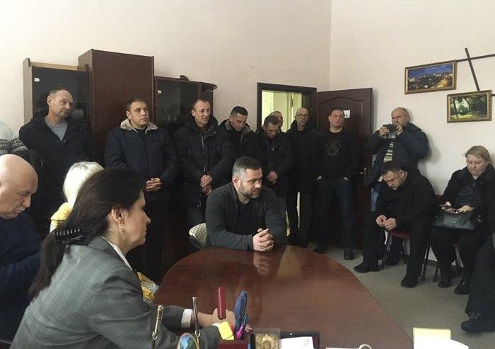 Зустріч Ірини Фріз з представниками ветеранських організацій Вінниччини.