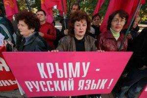 62% росіян вважають причиною анексії Криму загрозу російськомовному населенню