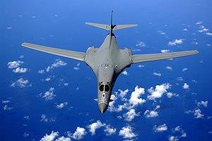 В США разбился бомбардировщик