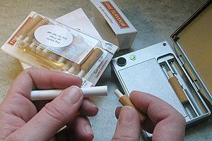 Львовянин попался на контрабанде электронных сигарет
