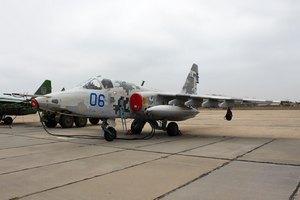 У Росії штурмовик Су-25 впав у город у приватному секторі