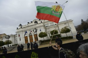 В Болгарии женщина совершила самоподжог у президентсткого дворца