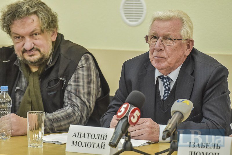 Анатотий Молотай и Влад Троицкий