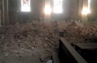 При землетрясении в Хорватии рухнула крыша столичного собора, есть погибший