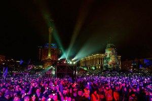 МВД не считает Майдан самым многолюдным новогодним мероприятием