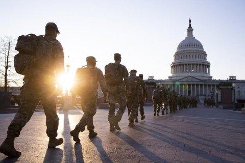 Нацгвардию США просят еще два месяца охранять Капитолий