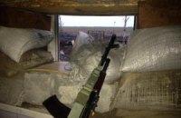 Штаб АТО опублікував відео шквального обстрілу села Піски